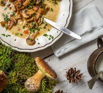 Zupa grzybowa ze świeżych grzybów: sprawdzony przepis
