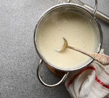Wegański sos beszamelowy: przepis na bezmleczny beszamel