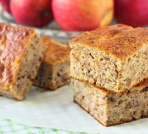 Fantastyczne ciasto owsiane z jabłkami: pyszny deser w 30 minut!