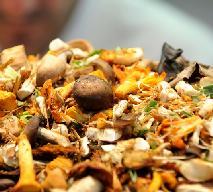 Lekka sałatka z grzybami leśnymi