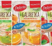 Nowe galaretki deserowe Delecta – bez żelatyny!