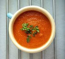 Szybka zupa marchewkowa z imbirem