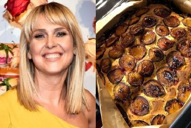 Ewa Wachowicz poleca ciasto ze śliwkami na dobry początek tygodnia