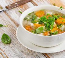 Zupa jarzynowa z bazylią z menu beszamel