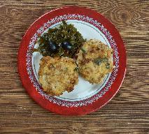 Placki z gotowanych ziemniaków i tuńczyka z menu beszamel