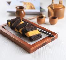 Cudowne wielowarstwowe ciasto żółtkowe z nadzieniem - gotowe w 30 min