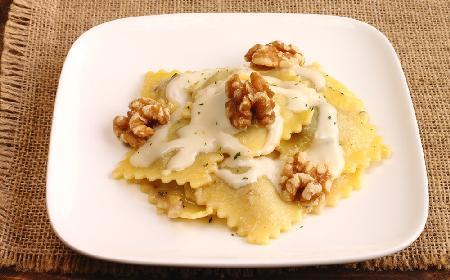 Ravioli w sosie serowym [Obiad w 15 minut]