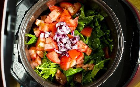 Warzywa duszone w wolnowarze