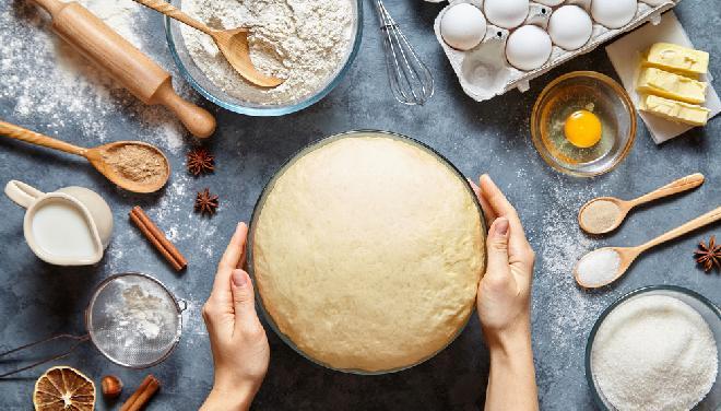 Ciasto drożdżowe bez wyrabiania: PROSTY PRZEPIS